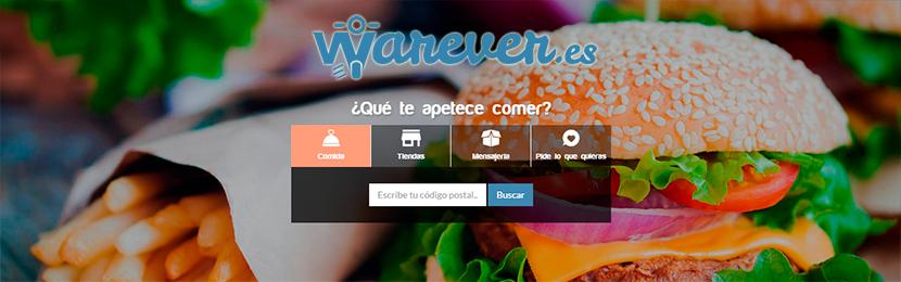 warever01 Warever una plataforma de reparto de comida y todo tipo de productos