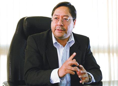 Luis Arce, ministro de Economía. Foto: La Razón
