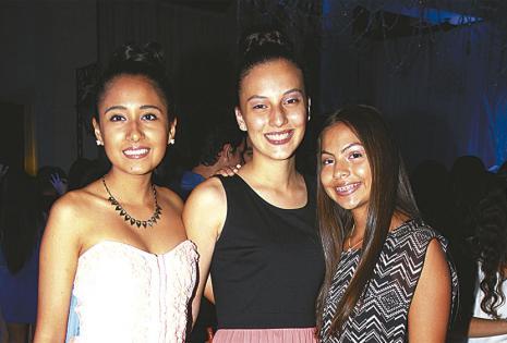 Valeria Rousseau, Salma Eid y Luna Velasco