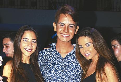 Carmen Julia Fernández, Sebastián Viruez y María Belén Casal