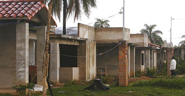 En Santa Cruz hay poco avance con la ejecución del programa de vivienda social, según el informe
