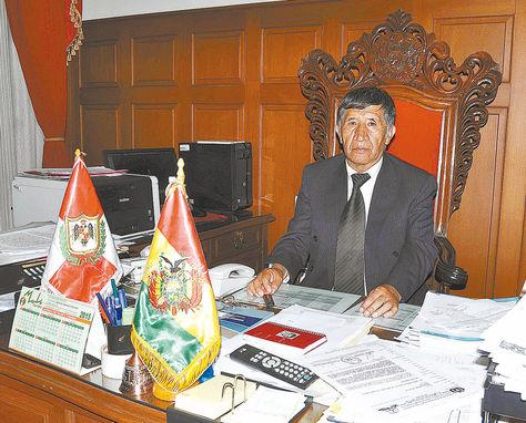 Autoridad. En la sesión de Sala Plena del TSJse eligió por mayoría de votos al magistrado Pastor Mamani.