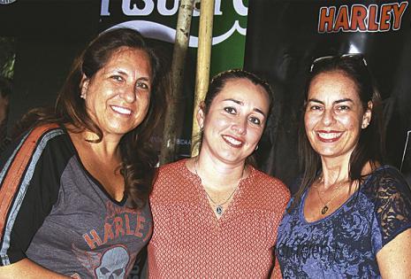 Mónica de Lozano, Jéssica Parada de Capriles y Talina de Castedo
