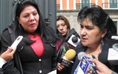Tres mujeres asumen las jefaturas de bancada en la Cámara de Diputados