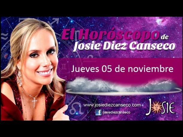 Josie Diez Canseco: Horóscopo del día 5 de noviembre (FOTOS)