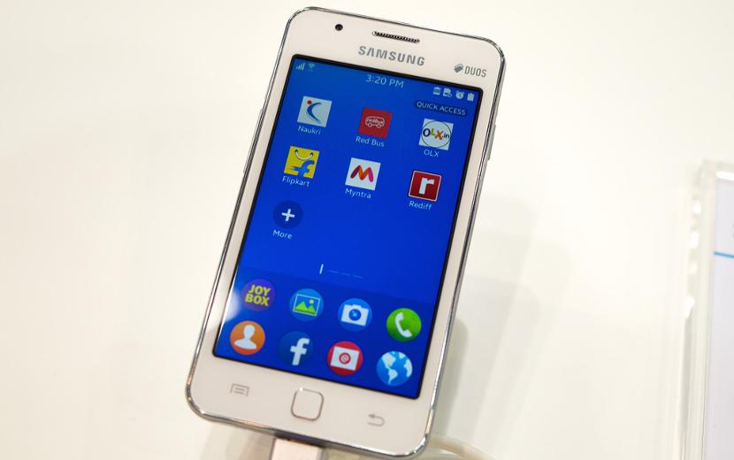 Z1 Tizen Tizen de Samsung ya supera a Blackberry en cuota de mercado