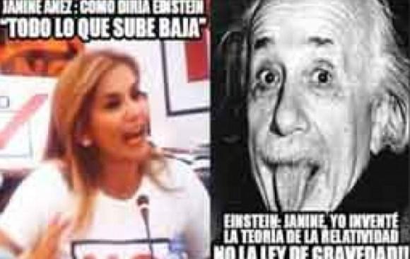 Confusión de senadora Añez provoca memes en las redes sociales