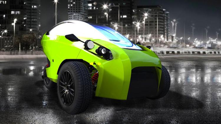 Sôki, el primer coche eléctrico chileno