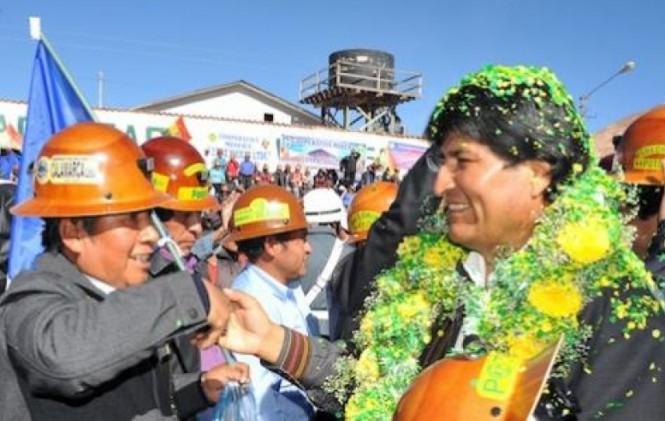 Son seis años que Evo Morales no asiste a los actos oficiales por el aniversario de Potosí