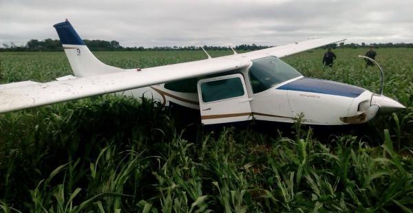 Avioneta cae en cuatro cañadas