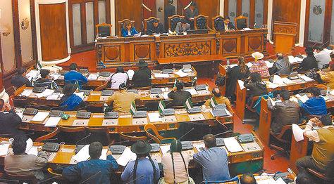 Presupuesto. La sesión del plenario de Diputados en la que se aprobó el proyecto modificatorio.