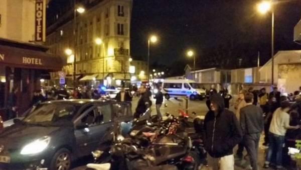 Tiroteos en París causan muertos y heridos. (Twitter)