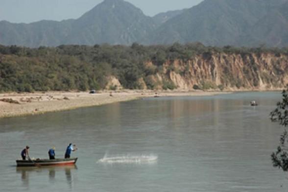 El río Pilcomayo.  Foto archivo -   Abi Agencia