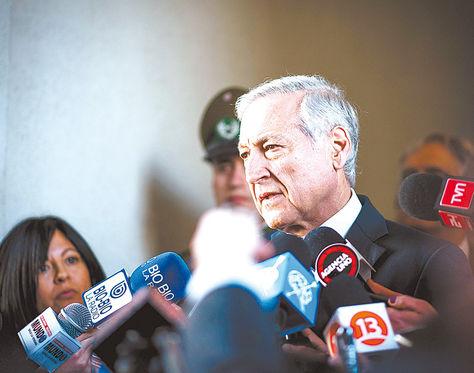 Diplomático. El canciller de Chile, Heraldo Muñoz, durante una entrevista con diferentes medios.