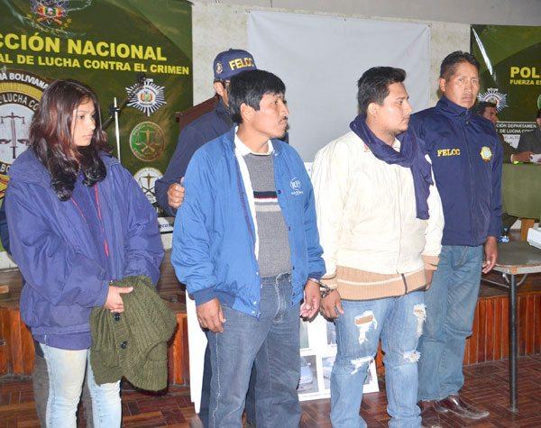 AYER FUERON PRESENTADOS LOS SOSPECHOSOS DEL HECHO OCURRIDO EN JULIO.
