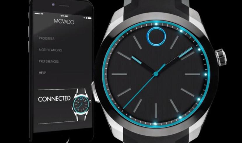movado bold motion Movado y HP presentan un smartwatch que es más reloj que inteligente