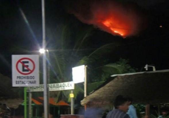 El fuego en el parque Madidi. -   Erbol Agencia