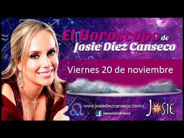 Josie Diez Canseco: Horóscopo del día 20 de noviembre (VIDEO)
