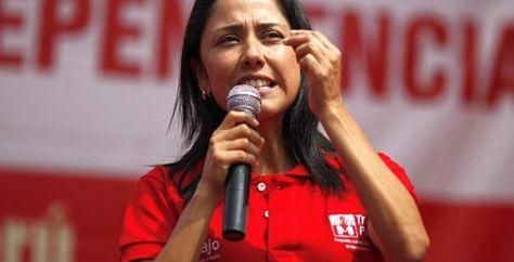 La primera dama del Perú, Nadine Heredia.