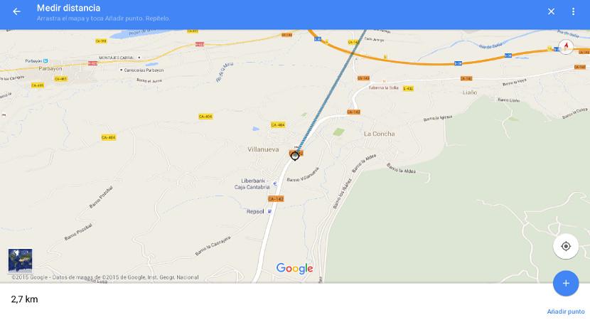 google maps Cómo medir distancias con la app de Google Maps