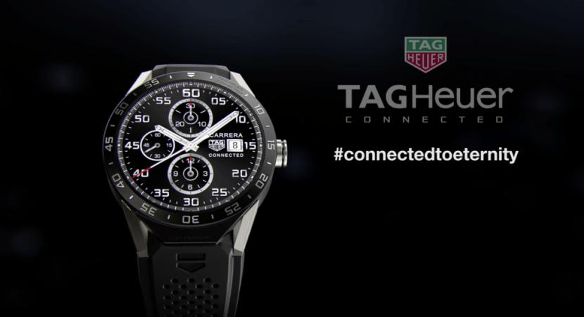 tag heuer connected 1024x556 La industria relojera suiza, cuesta abajo y sin frenos