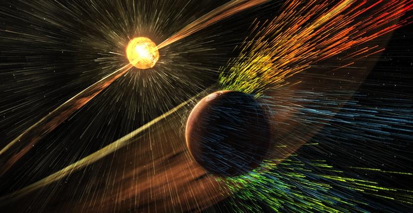 marte1 ¿Cómo pudo Marte perder su atmósfera y convertirse en un mundo frío y seco?