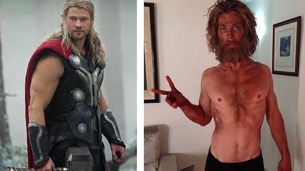 El actor ha compartido en su red social su espectacular cambio físico