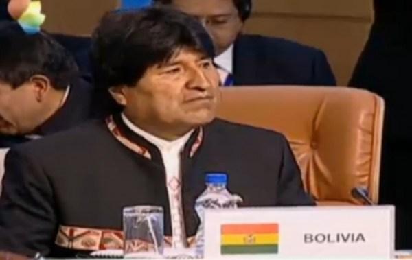 Evo Morales pide que la IV Cumbre de exportadores de Gas se realice en Bolivia