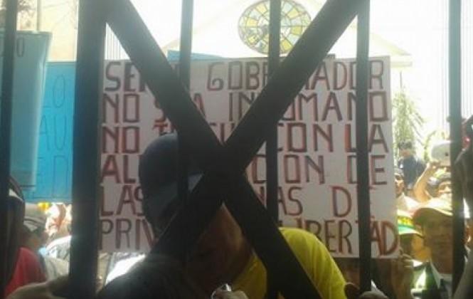 Reclusos de San Pedro exigen al gobernador Patzi cumplir con el pago de prediarios