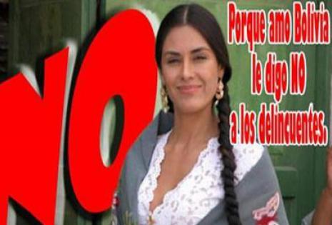 Carla Ortiz, actriz cochabambina