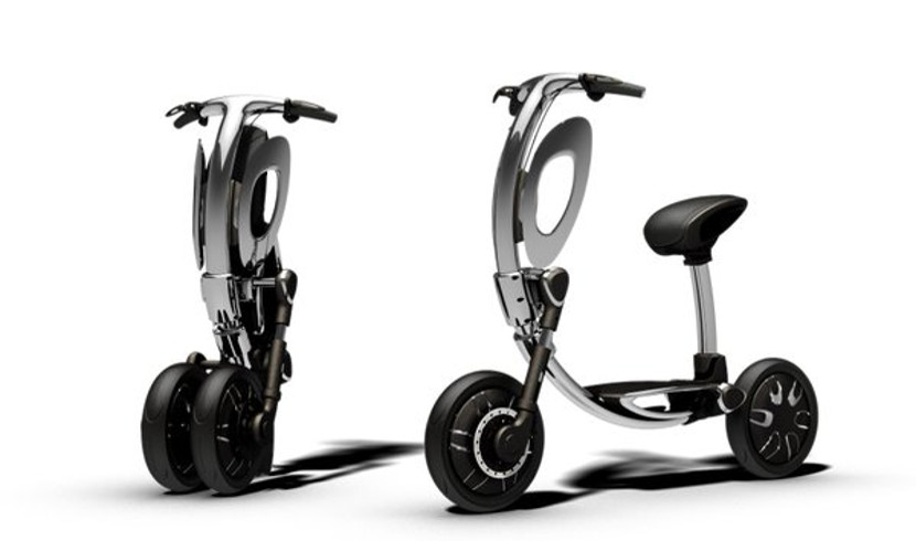 Inu Inu, una scooter eléctrica y futurista