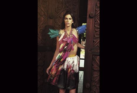 Fashionismo. La pasión por la moda salta a la vista, pero Rosita no deja atrás sus raíces.