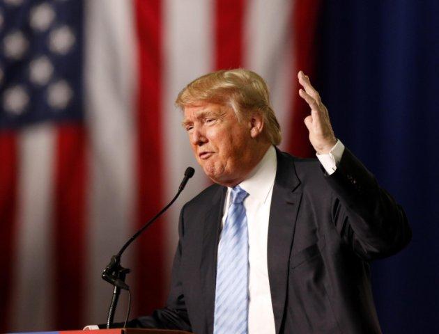 El precandidato presidencial insistió en que él vio a miles de musulmanes celebrar en New Jersey el atentado del 9/11. (AP)