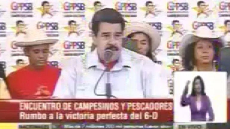 Nicolás Maduro criticó duramente a Luis Almagro