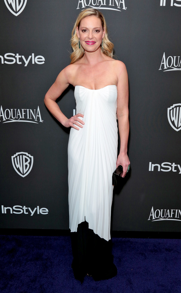 Katherine Heigl, Golden Globe, After Party