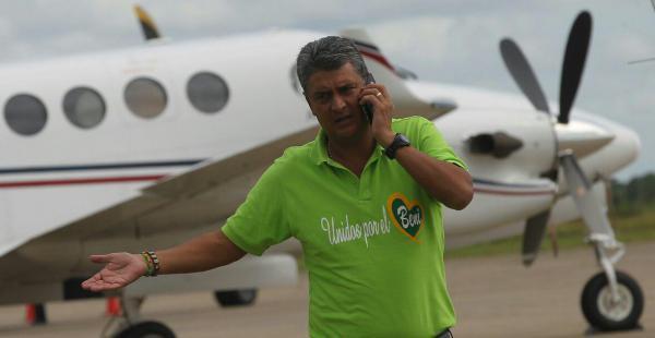 El exgobernador de Beni, Ernesto Suárez, fue arraigado por quinta vez por decisión de la justicia