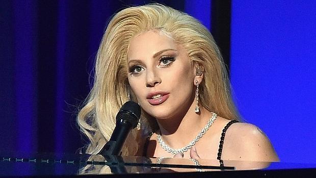 Lady Gaga en la gala del Sindicato de Productores