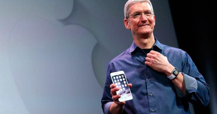 Presentación iPhone 6.