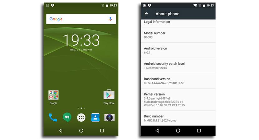 z3 marshmallow android Sony muestra en Concept for Marshmallow lo que debería de ser Android
