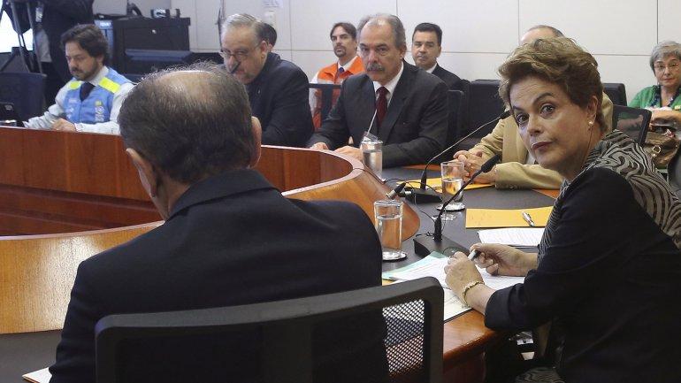 Dilma Rousseff reconoció su preocupación por el zika
