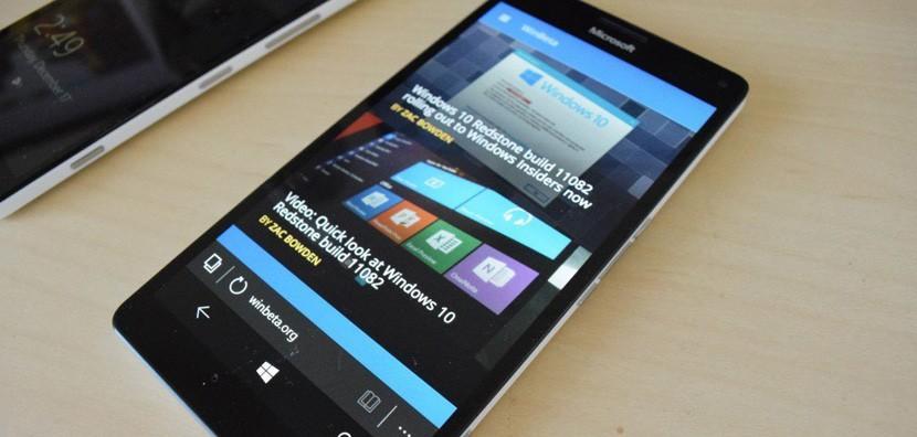 lumia 950 830x396 Microsoft sólo vendió 4.5 millones de Lumias en el trimestre pasado