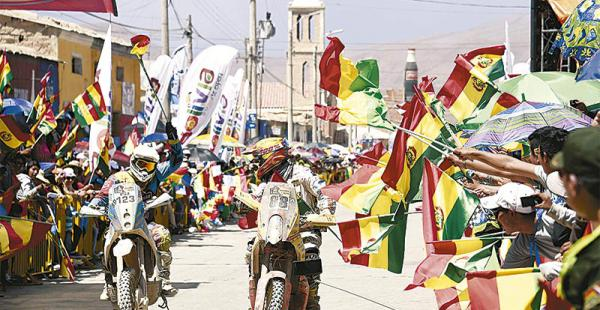 su mayor apuesta este año el rally dakar dejará $us 130 millones para bolivia El paso del rally Dakar por Bolivia es organizado por el Ministerio de Culturas y Turismo