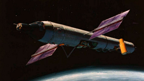 Foto ilustrativa del proyecto del Laboratorio Orbital Tripulado (MOL)
