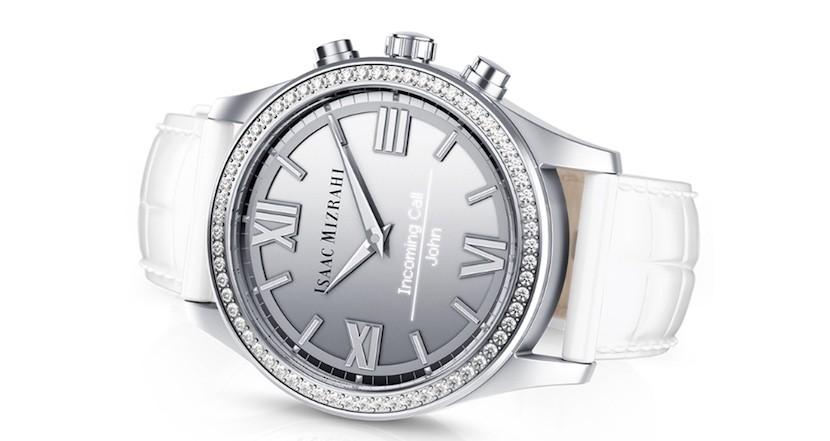 Isaac Mizrahi smartwatch hp 3 830x441 Isaac Mizrahi se alía con HP y Swarovski para lanzar un smartwatch para mujeres