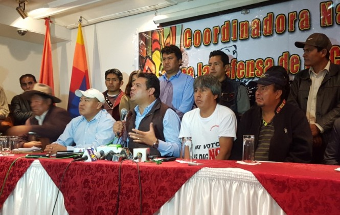 Disidentes del MAS se replegarán a sus regiones para organizar control electoral