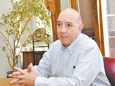 Familiar. José Antonio Quiroga, sobrino de Marcelo Quiroga, en entrevista con este diario en 2015.