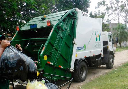 Distritos coordinan el recojo de basura y mantenimiento