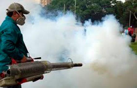 Fumigación permanente para eliminar mosquitos