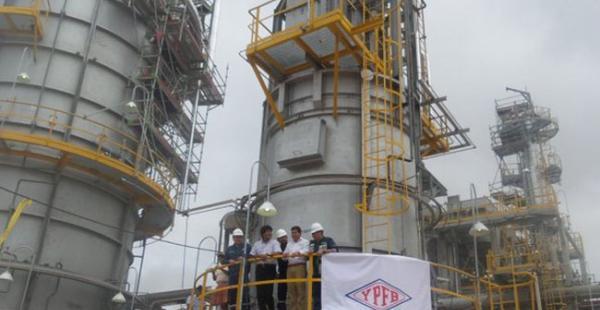 El 15 de febrero Bolivia inaugurará su primera planta de GNL en Santa Cruz