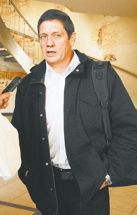 técnico. Mauricio Soria en una anterior visita a La Paz. Foto: Miguel Carrasco-archivo
